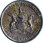 Médaille - Colombie-Britannique - Cornouiller du Pacifique – revers