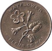 Médaille - Nouvelle-Écosse - Fleur de Mai – avers