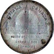 Médaille - Chambre des communes - Richard B. Bennett (#11 sur 15) – revers