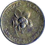 Médaille - Terre-Neuve - Sarracénie Pourpre – avers