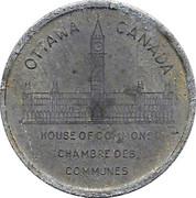 Médaille - chambre des communes - Wilfrid Laurier (#7 sur 15) – revers