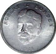 MEDAILLE-CHAMBRE DES COMMUNES-ROBERT L BORDEN 1911 – avers
