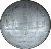MEDAILLE-CHAMBRE DES COMMUNES-ROBERT L BORDEN 1911 – revers