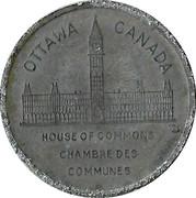 Chambre des Communes - Charles Tupper (#6 sur 15) – revers