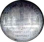 MEDAILLE-CHAMBRE DES COMMUNES-JOHN G.DIEFENBAKER 1957 – revers