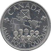 Jeton - Canada - Amis pour toujours – avers