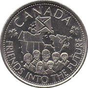 Jeton - Canada - Amis pour toujours – revers