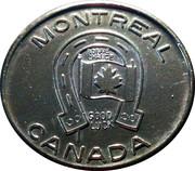Montreal Good Luck Token – avers