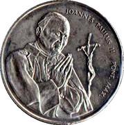 Médaille - Jean-Paul II - Oiseaux – avers