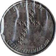Médaille - Jean-Paul II - Oiseaux – revers