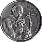 Médaille - Jean-Paul II - Cathédrale – avers