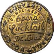 Opera Cocktail de Luxe - Souvenir – avers