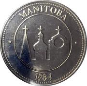 Manitoba Token – revers