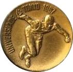 Universiade Tokyo 1967 – avers