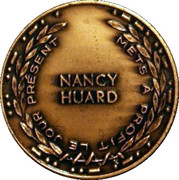 1985 24 June Le Québec en fêtes - Nancy Huard Medals – revers