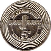 5 Cents (Niagara Casino) – revers