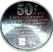 Jeton 50¢ McDonald – avers