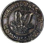 Metro Token - Toronto Transit Commission (The Borough of Scarborough) – avers