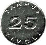 Damhus Tivoli Token – avers