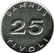 Damhus Tivoli Token – revers