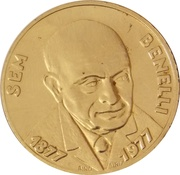 SEM BENELLI 1877-1977 – avers