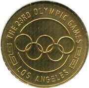 the 23RD Olympics Games – revers