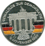 Token - Deutschland (Democracy) – avers
