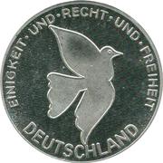 Token - Deutschland (Democracy) – revers
