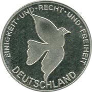 Token - Deutschland (Inkrafttretten der Währungs) – revers