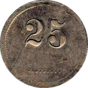 Wertmarke - 25 – avers