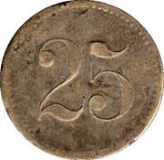 Wertmarke - 25 – revers