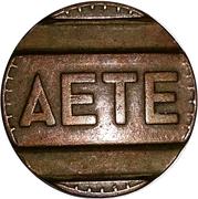 Telephone Token - AETE – avers