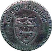 Isle of Brechou token – avers