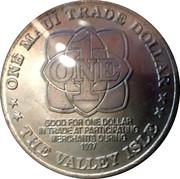 Maui Trade Dollar – revers