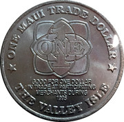 Maui - Trade Dollar – revers