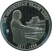 200 geburtstag Franz Liszt – avers