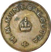 H.M Mint Calcutta – avers