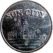 Sun City Slot Machine Token – avers