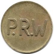 jeton P.R.W – avers