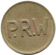 jeton P.R.W – revers