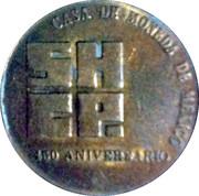 Casa De Moneda De Mexico 450 Aniversario. – avers
