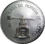 31.1 g (Cuauhtemoc; Medallic Silver Bullion Coinage) – avers