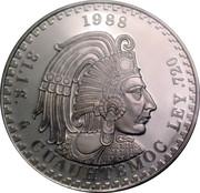 31.1 g (Cuauhtemoc; Medallic Silver Bullion Coinage) – revers