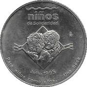 Ninos De Solidaridad commemorative – avers