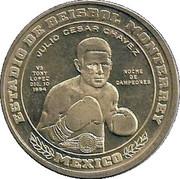 Julio Cesar Chavez vs. Tony Lopez token – avers