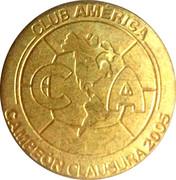 Club America Campeon Clausura 2005 – avers