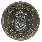 Gelderland - Jaarpenning 1997 – avers