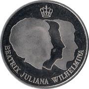 """Penning Rabobank 100 jaar """"Jubileumjaar 1998"""" – avers"""