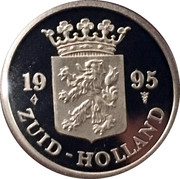 Netherlands Mint Set Identifier 1995( (ZUID-HOLLAND) – avers