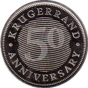 50 Anniversary Krugerrand – avers